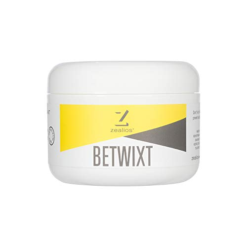 Zealios Betwixt Athletic Anti-Chafe Cream – All-Natural, Organic Skin Lubricant & Chamois Cream - 8 oz