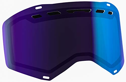 Scott DBL Prospect ACS Electric Blue Chrome Lens Snowmobile Eyewear Accessories