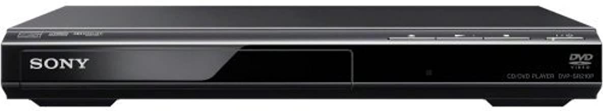 Sony DVPSR210P DVD Player (Progressive Scan) (Renewed)