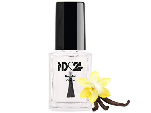 Nagelöl Vanille - 12 ml - in der praktischen Pinselflasche - Nagelhaut-Öl Nagelpflege-Öl Nagelhautpflege-Öl