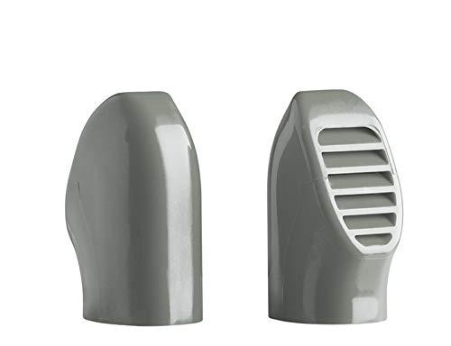 POWERBREATHER Ameo - Tapa para set de esnórquel (accesorios), color gris