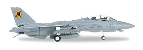 'Herpa 82tsmwtp002–Northrop Grumman F-14A–VFA 2013# 104Top Gun Movie Iceman & Slider Veicolo