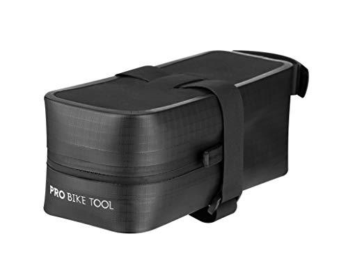 PRO BIKE TOOL Bicycle Saddle Bag - Strap-On Under Seat Cycling Bag for Road or Mountain Bikes (Medium)