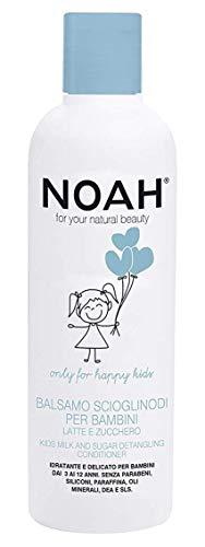 Noah, balsamo scioglinodi spray per bambini con latte e miele, 250 ml