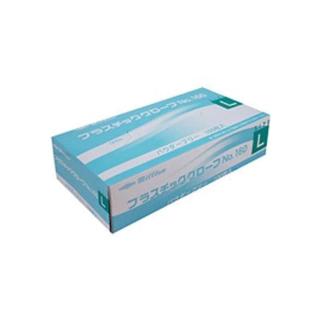 鳥対応するエーカーミリオン プラスチック手袋 粉無 No.160 L 品番:LH-160-L 注文番号:62741590 メーカー:共和