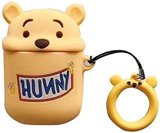 Pooh Hunny Silicone Cover for Apple Airpods Purse CharmsDisneyKey Cap Cute GIFT For Her Him Boyfriend  Girlfriend Ready to ship