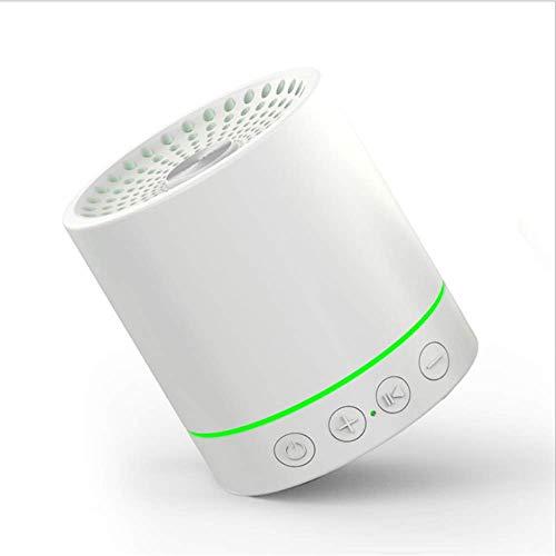 WENLONG Altavoces Bluetooth para Telefonos Moviles Amazon Explosivo Tarjeta Inalambrica Portatil De Altavoces Bluetooth Mini Luz Creativa Privado,Blanco