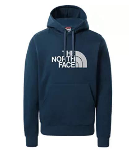 The North Face Men's Light Drew Pullover Hoodie Felpa con Cappuccio, Blue, S Uomo