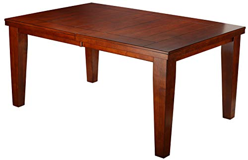 Cortesi Home Mandi Solid Wood Dining Table, Cherry (CH-DT906864)