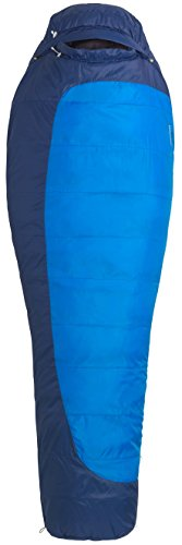 MARMOT Trestles 15 Cold-Weather Mummy Sleeping Bag, 15-Degree Rating, Blue