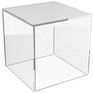 KIICN Cubo Metacrilato Caja Plexiglás Plaza Un Bandeja