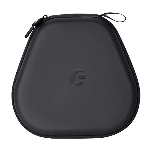 Hensych Funda protectora rígida para auriculares Airpods Max, bolsa de almacenamiento de EVA portátil de viaje bolsa a prueba de golpes para auriculares inalámbricos Airpods Max (negro)
