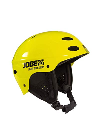 Jobe Heavy Duty RÉVEILLER Casque Jaune casque Casque De Wakeboard Casque De Kitesurfing Casque De Surf - XL (61-62cm)