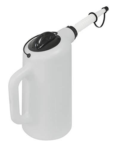 Lisle 19702 Dispenser with Lid and Cap - 8 Quart Capacity,Grey