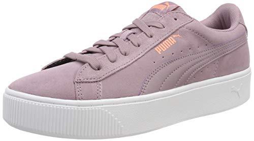 Puma Damen Vikky Stacked Sd Sneaker, Violett (Elderberry-Elderberry 05), 42 EU