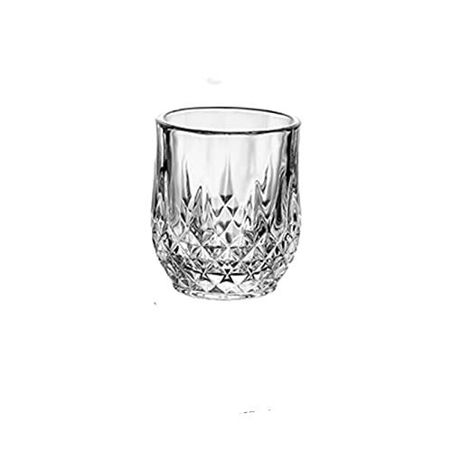 Vaso de chupito de 50 ml, mini vidrio, vidrio de afinidad de doble cara, vaso de vino (capacidad: 50 ml, color: YXY1503 90 ml)