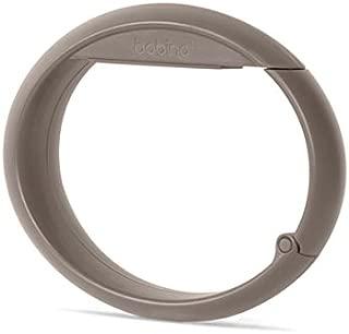 BOBINO(ボビーノ) バッグフック スレートグレイ W10.5×D1.5×H7.5cm テーブル デスク オフィス 椅子 バッグ ずり落ち防止 自転車 ハンドル 盗難防止 シンプル おしゃれ 91561