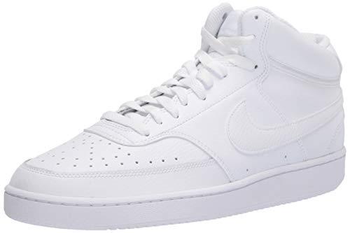 Nike Court Vision Mid, Sneaker Hombre, Blanco, 43 EU