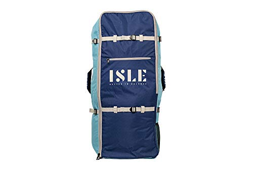 ISLE iSUP Travel Backpack for Inflatable Paddle Boards & Accessories (Blue)