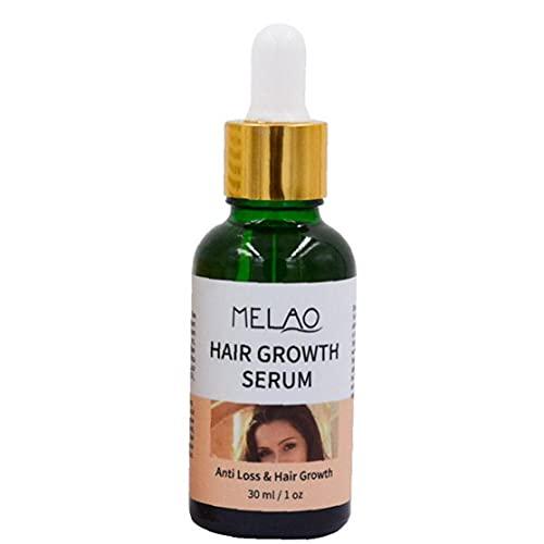 AtheMeet Melao Pelo Crecimiento Serum Suero Herbal Scalp Therapy Aceite para un Cabello más Grueso más Fuerte 30 ml