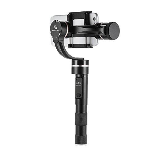 Andoer Feiyu G4 Pro 3 Assi Brushless Motore Portatile Gmibal Palmare Smartphone Stabilizzatore Pan Movimento Senza Limitata per iPhone Samsung Huawei Xiaomi e Smartphone entro 53 mm-80mm