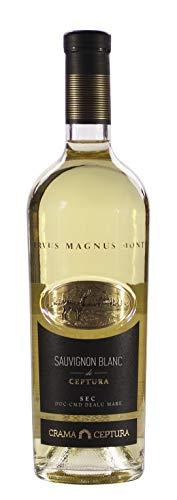 Crama Ceptura   CERVUS MAGNUS MONTE Sauvignon Blanc – Weißwein trocken aus Rumänien   0.75 L DOC-CMD