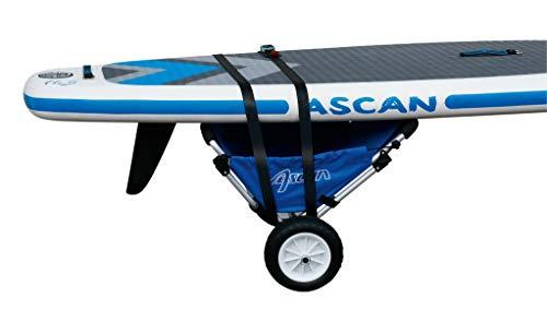 Preisvergleich Produktbild Ascan Boardbuggy Transportwagen Kanuwagen,  Kajakwagen,  Surfwagen,  Beachbuggy Transporthilfe mit Sitz,  pannensichere Reifen