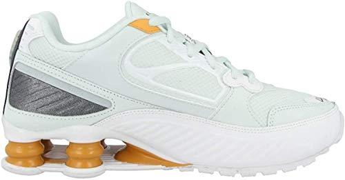 Nike Damen Shox Enigma Running Trainers BQ9001 Sneakers Schuhe (UK 3 US 5.5 EU 36, Ghost Aqua White 400)