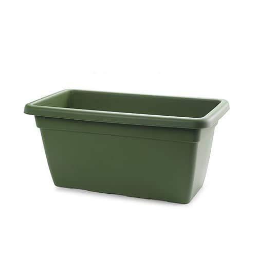 CABLEPELADO Jardinera de plastico Alta 60 cm Verde