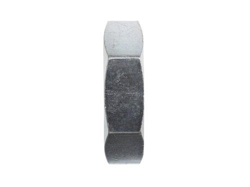 Brennan 0306-04-SS, Stainless Steel JIC Tube Fitting, Bulkhead Lock Nut, 1/4