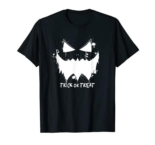Disfraz de calabaza espeluznante  Calabaza malvada Happy Halloween Camiseta