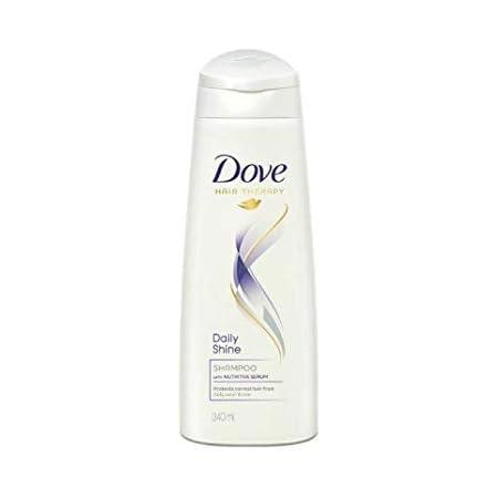 Dove Daily Shine Shampoo, 340 ml