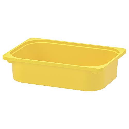TROFAST caja de almacenaje 30x10 cm amarillo