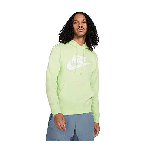NIKE M NSW Club Hoodie PO BB GX Sweatshirt, lt Liquid Lime/lt Liquid Lime, Mens