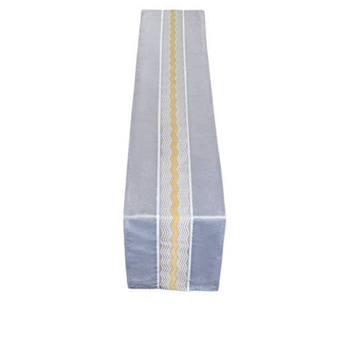 Mesita de noche casual con bandera china Zen moderna minimalista para decoración de gabinete de televisión, toalla de cama, 30 x 200 cm, MXJ61