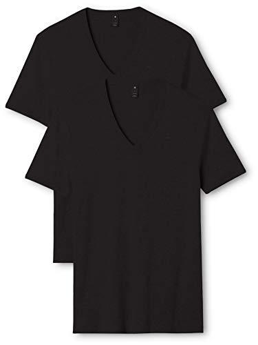 G-STAR RAW Base V T S/s 2-Pack Camiseta, Negro (Black 990), L para Hombre