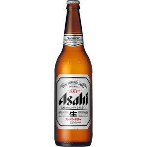 アサヒ スーパードライ 大瓶 633ml×1ケース(20本)