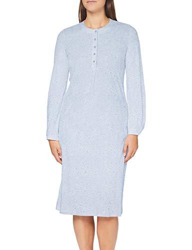 Schiesser Damen 1/1, 110cm Nachthemd, hellblau, 38