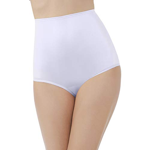 Vanity Fair Women's Perfectly Yours Ravissant Tailored Nylon Brief Panty - Size 8 - Star White