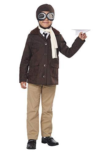 Boys American Aviator Pilot Costume size XL 12-14