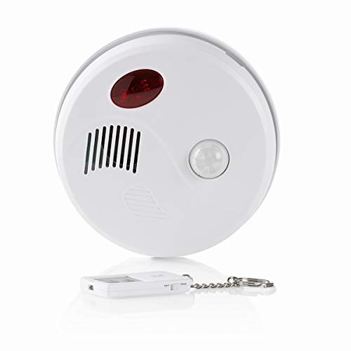 Sicherheitsbewegungsalarm | Deckenhalterung | Alarm/Akustisches Warnsignal | EIN-/Ausschalten über Fernbedienung
