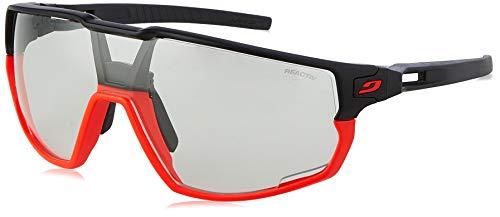 Julbo Unisex Rush Sonnenbrille, Fluo Orange/Schwarz, Einheitsgröße