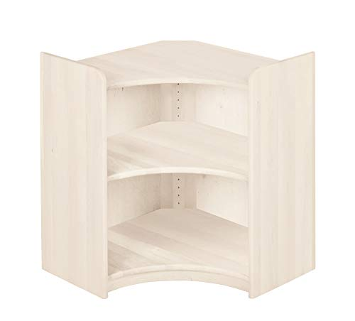 BioKinder 22235 Lara Regal Bücherregal Ecklösung aus Massivholz Erle 80 x 70 cm