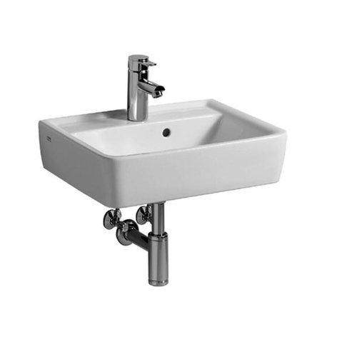 Keramag Renova Nr.1 Plan Waschtisch 550x440 mm mit Hahnloch und Überlauf