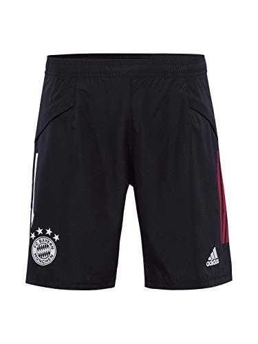 adidas Herren Short 20/21 Fc Bayern Downtime Short, Black/Fcbtru, S, FR5335