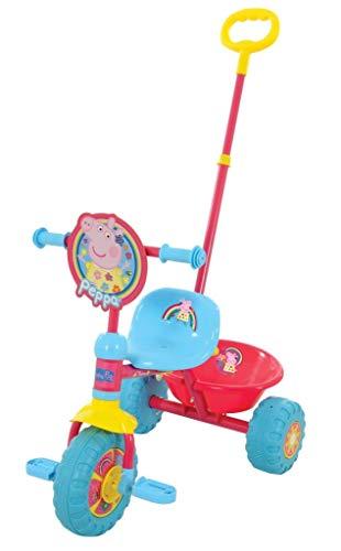 Peppa Pig Triciclo Mi Primer Trike, Color Rosa, Talla única (MV Sports and Leisure Ltd M14271)