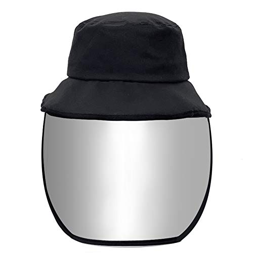 Csheng Visier Gesichtsschutzschirm Gesichtsschutzschirm Fischer Hut Shiled Gesicht Schutz Anti-Nebel Gesicht Schild Kunststoff Gesicht Schild 2