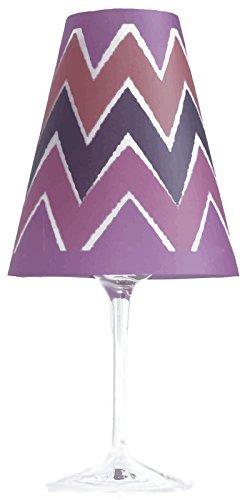 La mesa LT––Juego de 6lámpara para copa de vino Collection Ikat