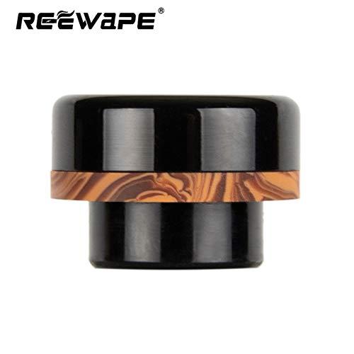 Fuguan 810 Drip Tip, Standard Resin 528 Drip Tip for Ice Maker Mod(Black)