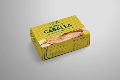 Sea Kings lata de filetes de caballa en aceite de girasol (10x125g)